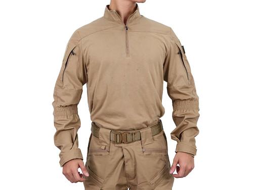 Pazaguila Frogman Combat Shirt (Color: Coyote Brown)