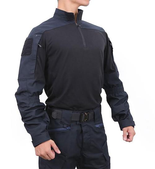 Pazaguila Frogman Combat Shirt (Color: Navy)