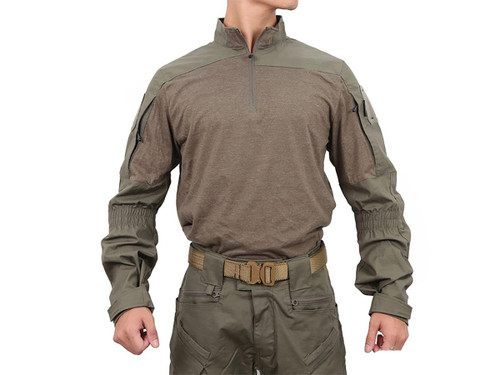 Pazaguila Frogman Combat Shirt (Color: Ranger Green)