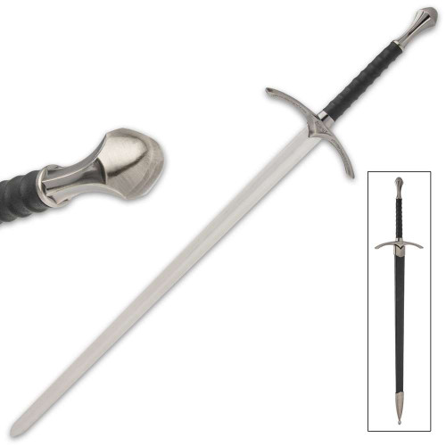 Wizard's One-Handed Sword And Scabbard