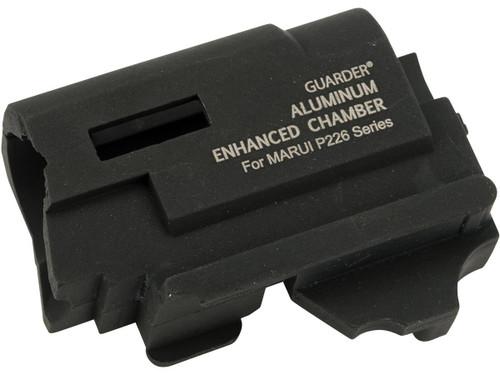 Guarder CNC Machined Aluminum Enhanced Hop-Up Chamber w/ Hopup Dial for Tokyo Marui P226/E2 GBB Pistols