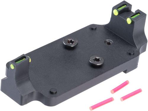 5KU Fiber Optic Docter Mount Base for GLOCK Series GBB Pistols