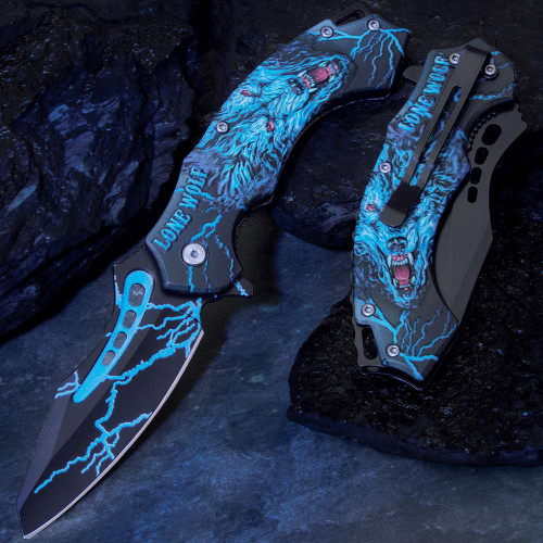 Lone Wolf Assisted Opening Pocket Knife