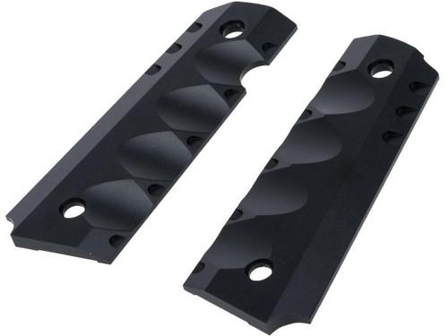 Angel Custom CNC Aluminum Shadow Killer Universal Grip Set for 1911 Series Airsoft Pistols