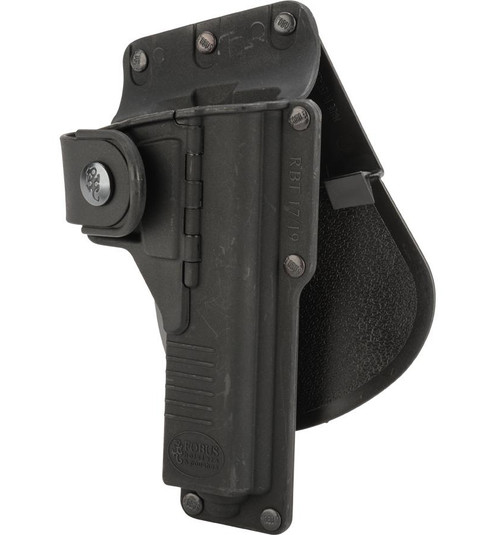 Fobus Tactical Duty Holster w/ Active Retention (Model: GLOCK 19 , 23, 32 w/ Light or Laser / Paddle)