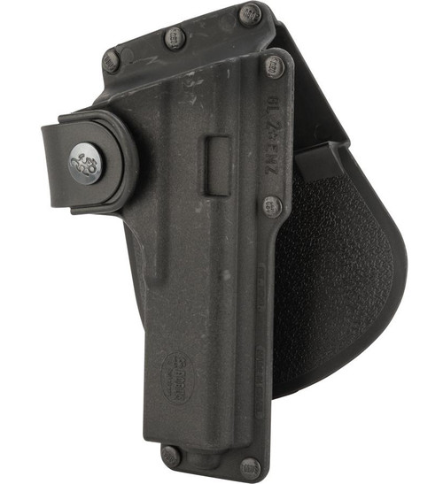 Fobus Tactical Duty Holster w/ Active Retention (Model: GLOCK 17, 22, 31 w/ Light or Laser / Paddle)