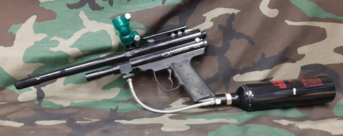 PMI Piranha Paintball Marker - Package - UNTESTED