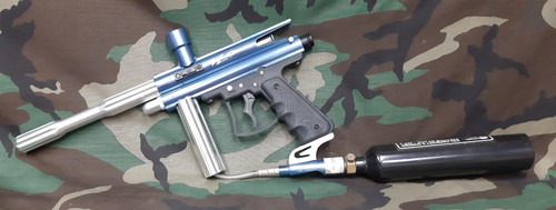 View Loader Orion Paintball Gun Metallic Blue - Package - UNTESTED