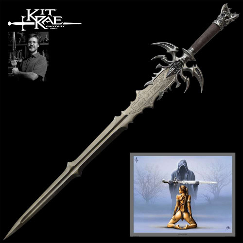 Kit Rae Vorthelok Dark Edition Fantasy Sword