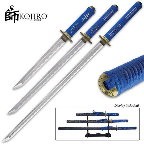 Kojiro Blue Mikado Sword Set