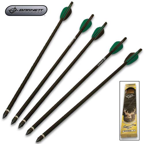 "Barnett 18"" Crossbow Arrows - Five-Pack"