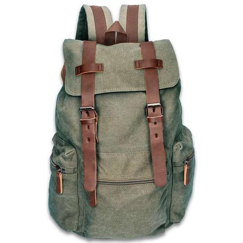 Outback Traveler Green Rucksack