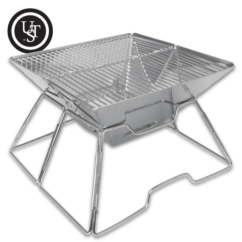 UST Pack-A-Long Grill With Storage Bag