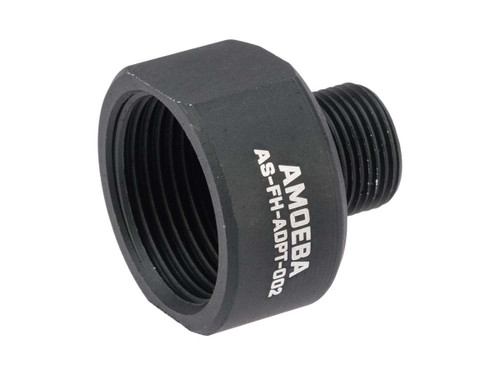 ARES Amoeba Flash Hider Adapter For Striker Outer Barrel (Thread: 14mm Negative)