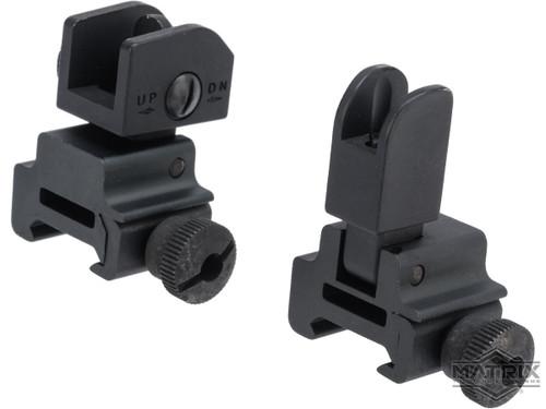 Matrix Tactical Folding Front and Rear Sight Set