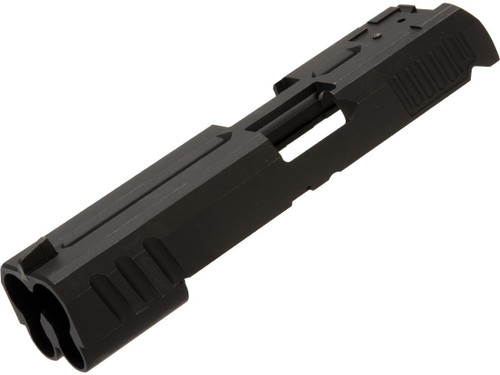 AW Custom Aluminum Alloy Slide for Double Barrel High-Capa Gas Blowback Airsoft Pistols