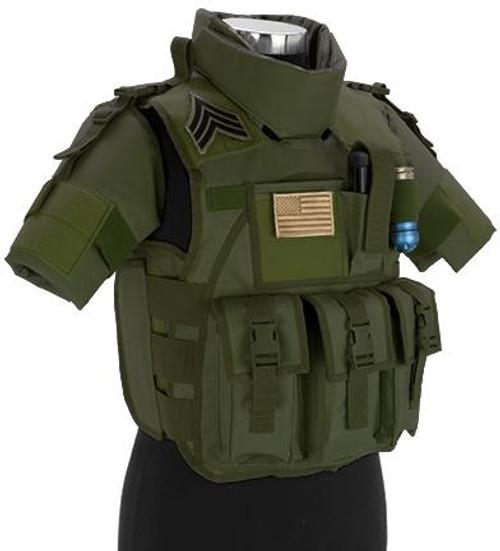 Matrix S.D.E.U. Ultra Light Weight Airsoft Tactical Vest (Color: OD Green)