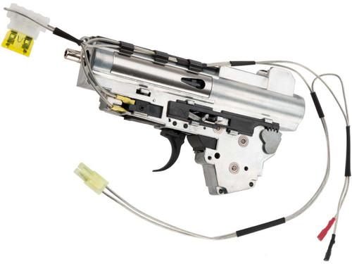 "APS ""Silver Edge"" 8mm Version 3 Airsoft AEG Gearbox (Wiring: Rear)"