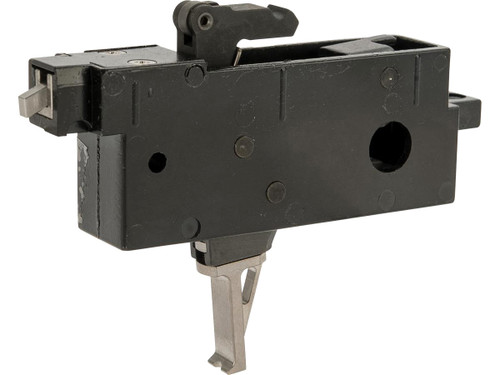 RA-Tech Steel Variable Pull Stroke Trigger Box for WE-Tech M4/M16 Gas Blowback Airsoft Rifles
