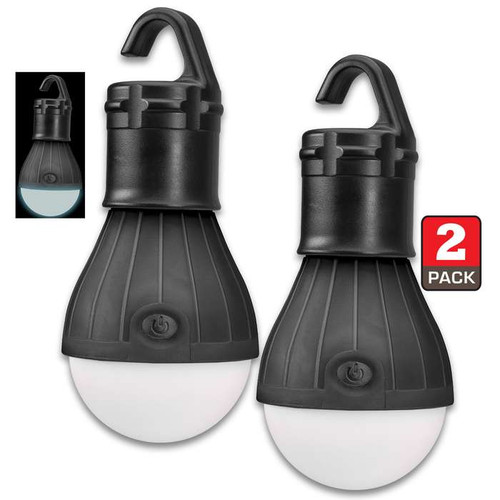 Trailblazer Two-Pack LED Tent Lamp