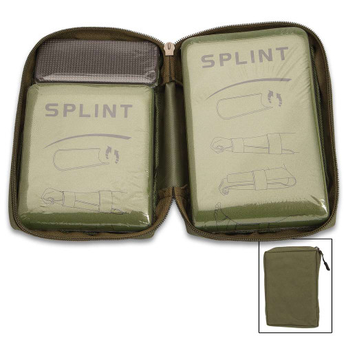 Reusable Splint Set In Zippered Bag