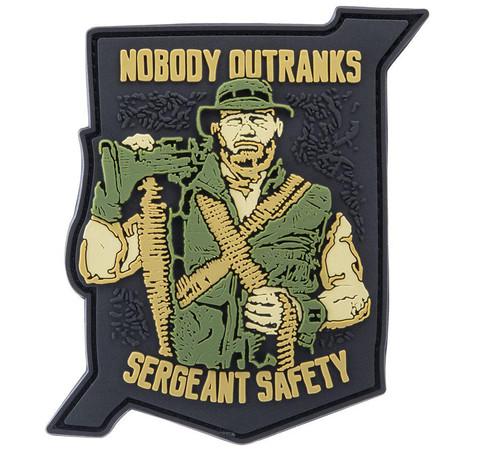 """Viktos """"Sgt. Safety"""" PVC Moralpha Patch"""