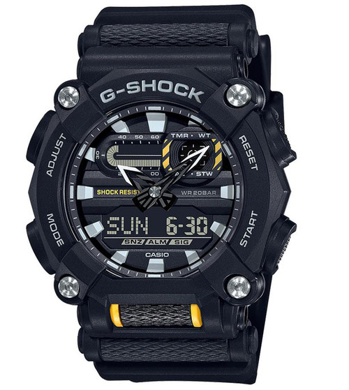 G-Shock GA900-1A Analog-Digital Watch (Color: Black)