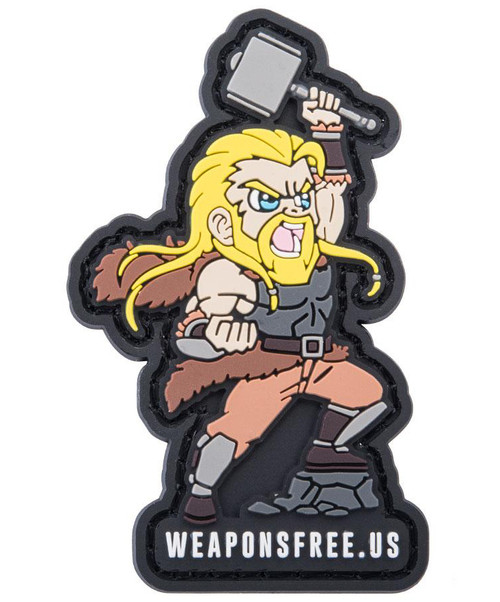 """Weaponsfree.US """"God Of Thunder"""" Tactical PVC Morale Patch"""