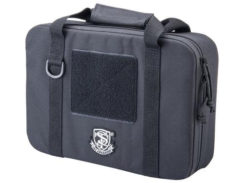 S&T Semi-Hard Pistol Case (Model: Single Pistol / Black)