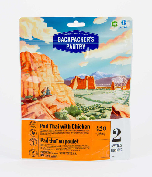 Backpacker's Pantry Pad Thai with Chicken