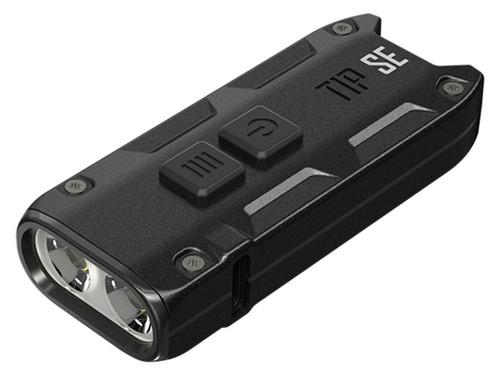 NiteCore TIP SE 700 Lumen USB-C Rechargeable Dual Core Metallic Keychain Flashlight
