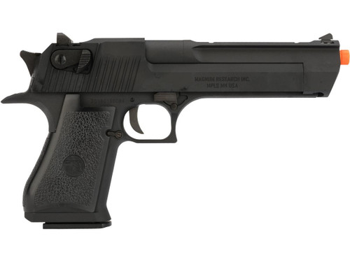 WE-Tech Desert Eagle .50 AE Full Metal Gas Blowback Airsoft Pistol by Cybergun (Color: Black / CO2 / Gun Only)