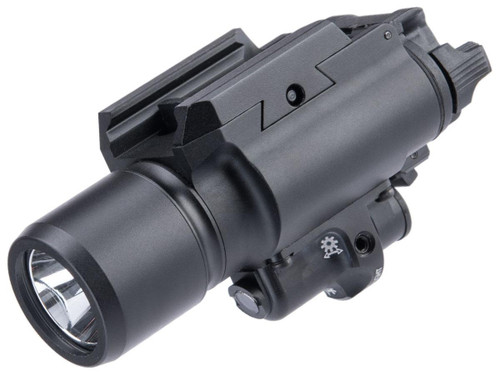 Element Tactical Rail Mounted Weapon Light w/ Red laser (Model: Standard)