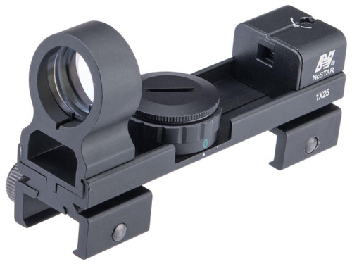 NcSTAR 1x25 Red & Green Dot Reflex Sight w/ Weaver and Dove Tail Base