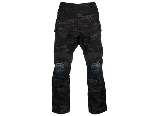 EmersonGear Combat Pants w/ Integrated Knee Pads (Color: Scorpion Black / Size 38)
