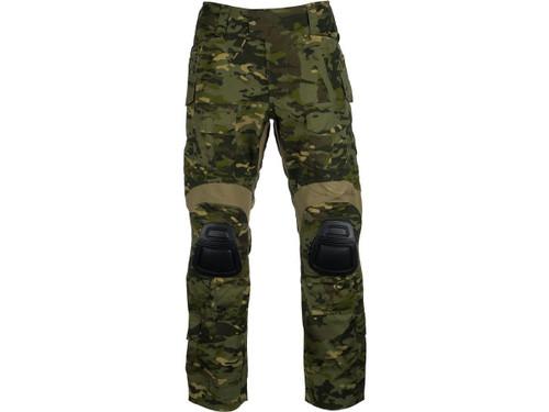 EmersonGear Blue Label Combat Pants w/ Integrated Knee Pads (Color: Multicam Tropic / Size 38)