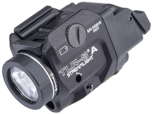 Streamlight TLR-8 A 500 Lumen LED Compact Weapon Light w/ Integrated Red Laser