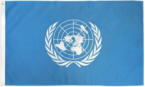 United Nations Flag - 3'x5'