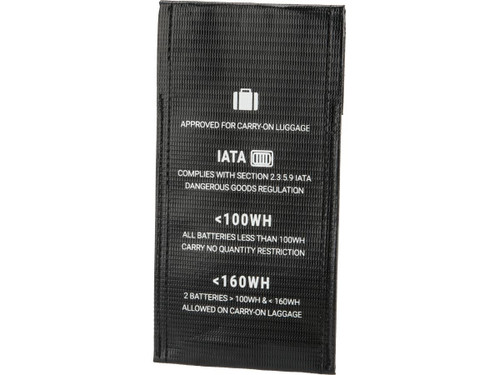 """Lipo Safe Charging and Travel Bag for Lithium Polymer Batteries (Size: 4"""" x 7.8"""" Envelope)"""