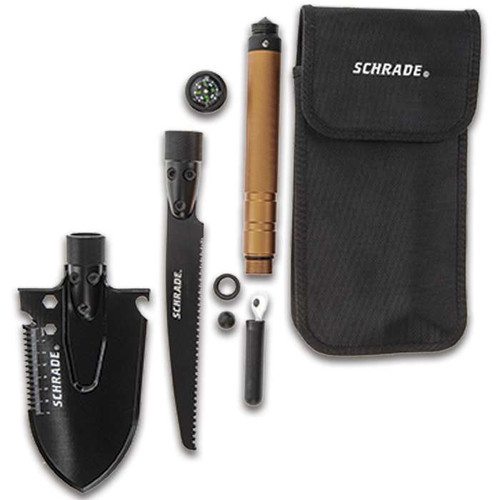 Schrade Shovel And Saw Combo With Pouch