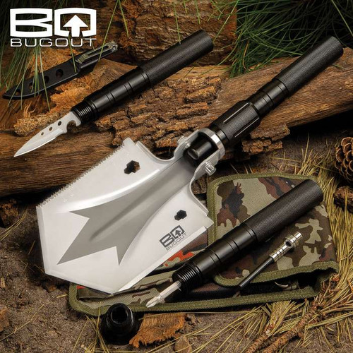 BugOut Small Multi-Function Folding Entrenchment Tool