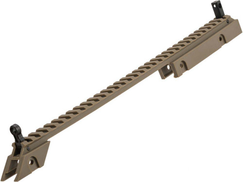 UFC idZ Carry Handle Sight Rail for G36 Airsoft AEG Rifles (Color: Desert Earth)