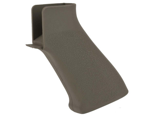 APS Battle Motor Grip for M4/M16 Series Airsft AEG Rifles (Color: Foliage Green)