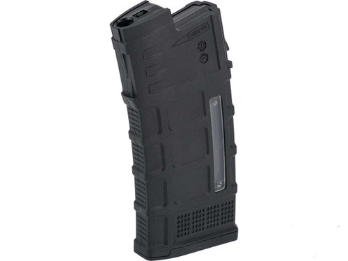 Avengers Polymer Magazine for AUG Series Airsoft AEG Rifles (Color: Black / 120rd Mid-Cap)