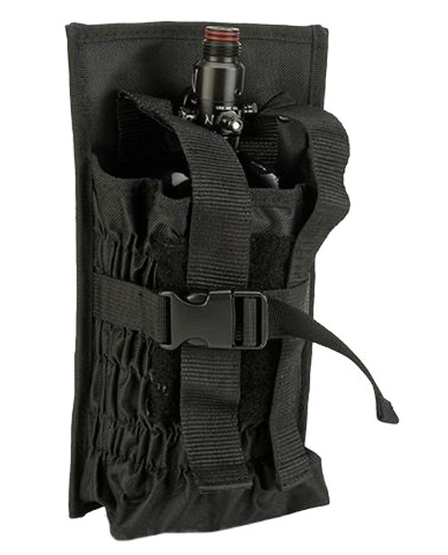 Tippmann Airsoft MOLLE HPA Tank Holder - Black