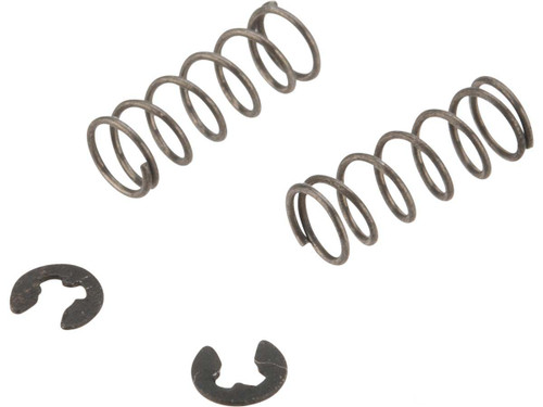 6mmProShop Replacement Springs and Clips for Bolt Handle Detent Assembly for 6mmProShop M200 Airsoft Rifles