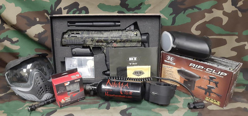 BT TM-7 Tactical Paintball Marker - Package - USED