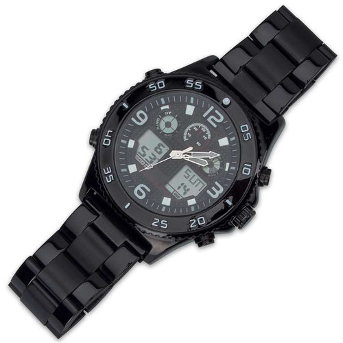 Black Stainless Everyday Casual Watch