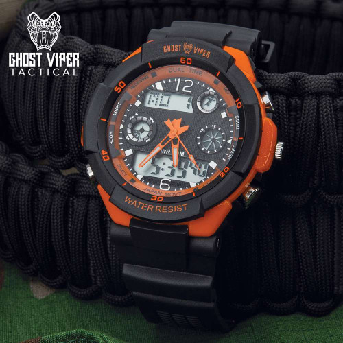 GVT Orange Outdoors Adventure Watch