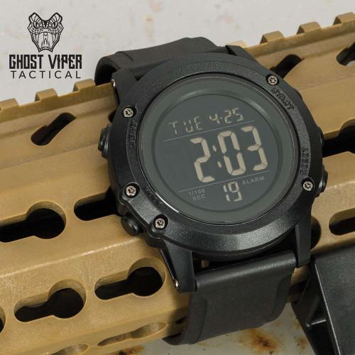 Ghost Viper Tactical Black Digital Watch